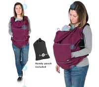 Fun2BEmum ® Draag cover - Softshell - Plum