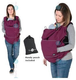 Babywearing cover - Softshell - Plum