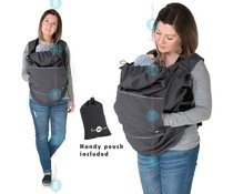 Babywearing cover - Softshell - Graphite