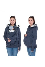POLA - 3en1 Sweat/veste - Jeans/étoilles