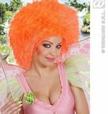 Pruik EK neon-oranje