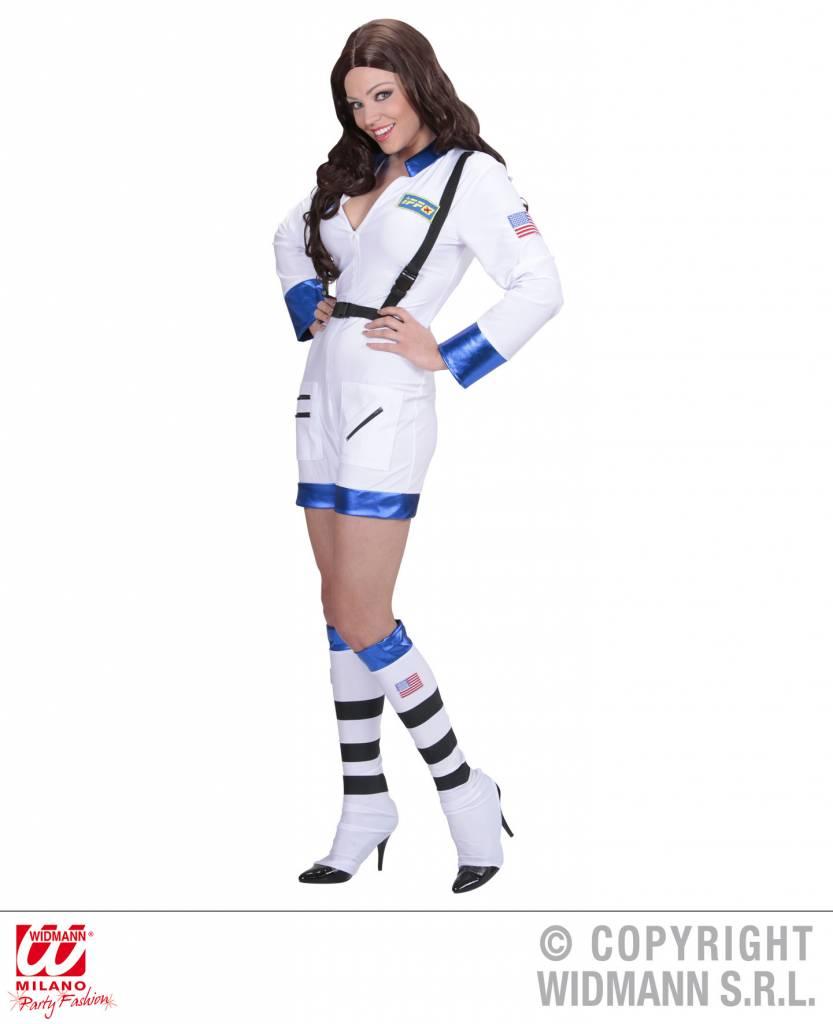 Toppers pak Astronauten kostuum in wit