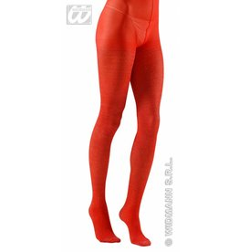 Toppers glitterpanty rood