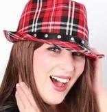 Gangsterhoed Schotse ruit