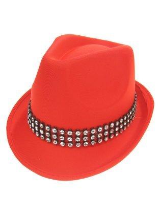 Gangsterhoed rood