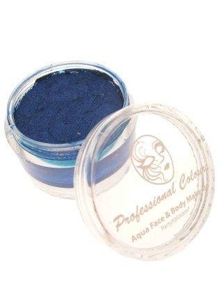 Aqua schmink metalic blauw 18 gram