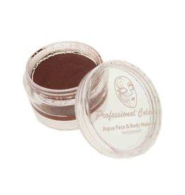 Aqua schmink indiaan rood/bruin 18 gram