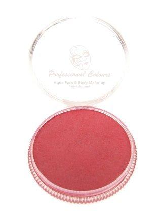 Aqua schmink metalic rood  30 gram