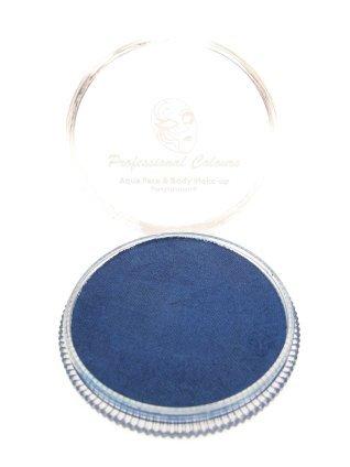 Aqua schmink metalic blauw 30 gram