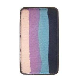 Splitcake blauw, licht blauw, lavendel, wit