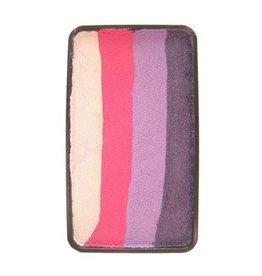 Splitcake paars, lavendel, pink, wit