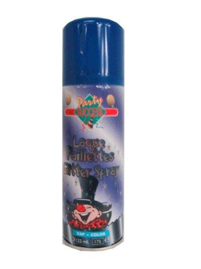 Haarspray glitterblauw 125 ml
