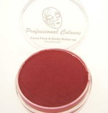 Aquaschmink pearly color rood  10 gram