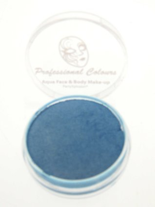 Aquaschmink pearly color blauw 10 gram