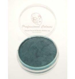 Aquaschmink pearly color blauw 10 gram