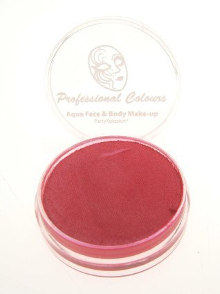 Aquaschmink metallic rood 10 gram