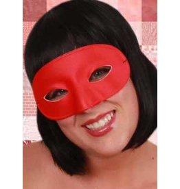 Oogmasker rood