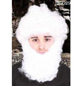 Witte baard 20cm
