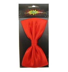 Luxe strik satijn rood