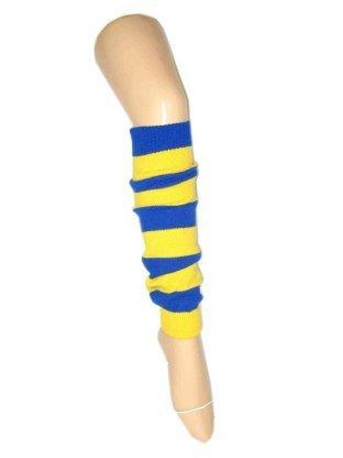 Beenwarmers blauw/geel