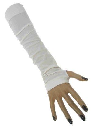 Gala armwarmer wit