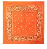 Bandana / zakdoek rood 55 x 55 cm