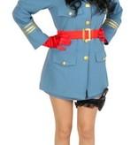 Dictator vrouw blauw