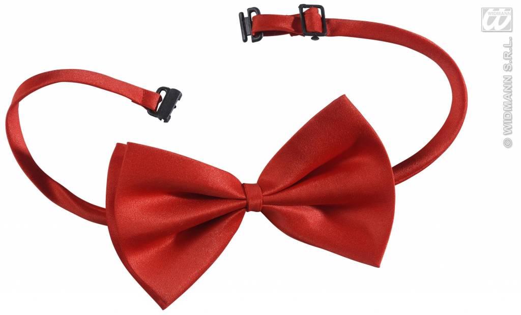 Rood strikje verstelbaar