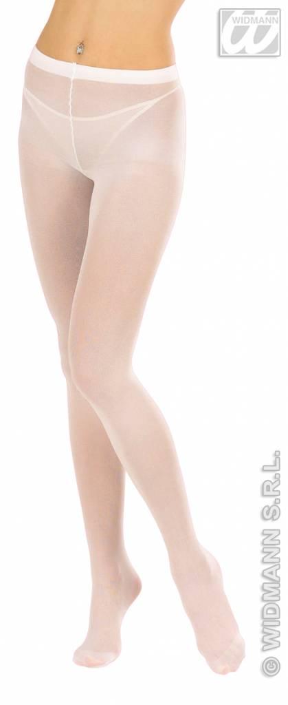 Witte panty XL