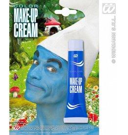 Make-up schminck blauw
