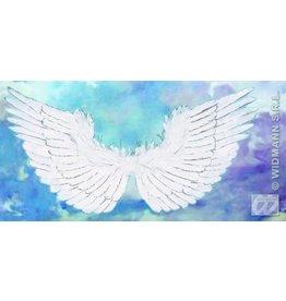 Vleugels met zilveren glitte 86x42cm