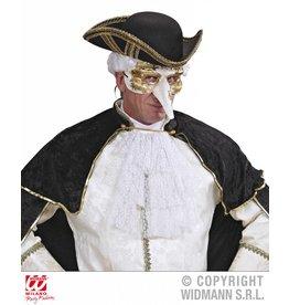 Masker wit met goud