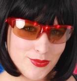 Discobril rood met licht