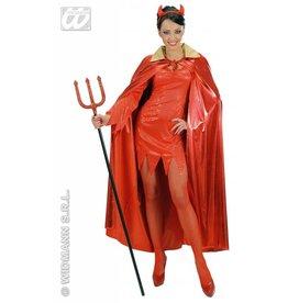 Rode cape metallic