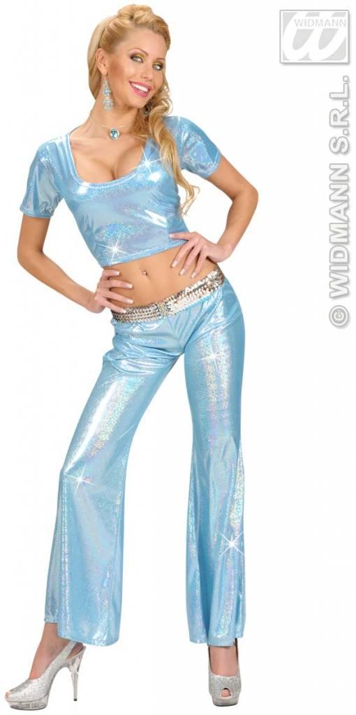 Broek holografisch dames