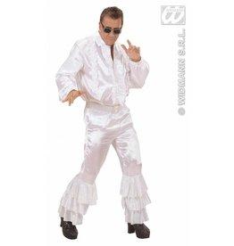 Witte broek met pailletten