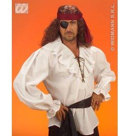 Wit piratenshirt