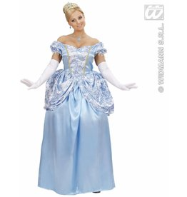 Prinses blauw