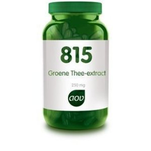 AOV 815 Groene Thee-Extract 250 mg 180 capsules