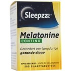 Sleepzz Melatonine Time Release 0,1 mg 500 tab