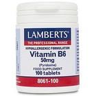 Lamberts Vitamin B6 50 mg 100 tabletten