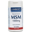 Lamberts MSM 1000 mg 120 tabletten