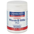 Lamberts Vitamin D3 1000iu 120 cap