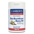 Lamberts Sea Buckthorn Berry Oil 1000 mg 60 cap