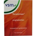 VSM Tonsiotreen Zuigtabletten 40 stuks