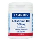 Lamberts L-Histidine HCl 500mg 30 cap