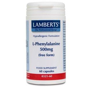 Lamberts L-Phenylalanine 500 mg 60 capsules