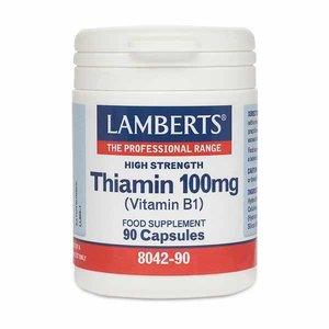 Lamberts Thiamin (Vitamine B1) 100 mg 90 capsules