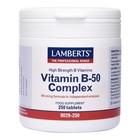 Lamberts Vitamin B-50 Complex 250 tab