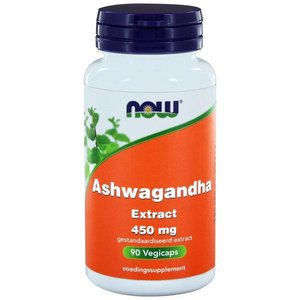 NOW Ashwagandha Extract 450 mg 90 vegicaps